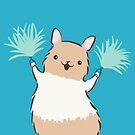 Little Rat Cheerleader - Yay Rats! by zoel