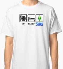 EAT SLEEP SIMS Classic T-Shirt