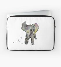 Baby Elephant Walk Laptop Sleeve