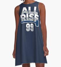 Vestido acampanado All Rise 99 - Todo en aumento para el juez NY Yankee Baseball