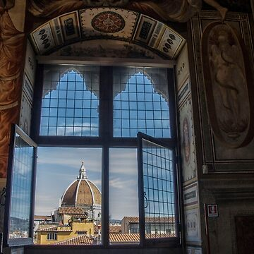 Duomo from inside the Palazzo Vecchio, Florence,  Italy by Stravaigin
