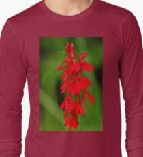 Scarlet Lobelia Long Sleeve T-Shirt