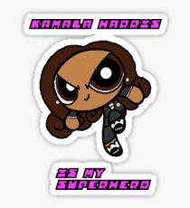 Powerpuff Senator Kamala Harris Sticker