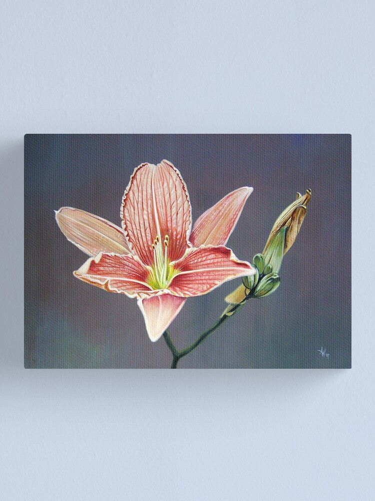 Alternate view of Blooming, Decay and New Beginning Canvas Print