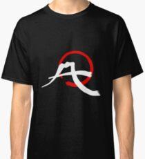 Mt. Fuji Calligraphy - White Ver. Classic T-Shirt