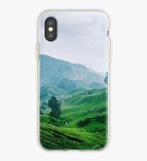 Tea Plantation, Malaysia. iPhone Case