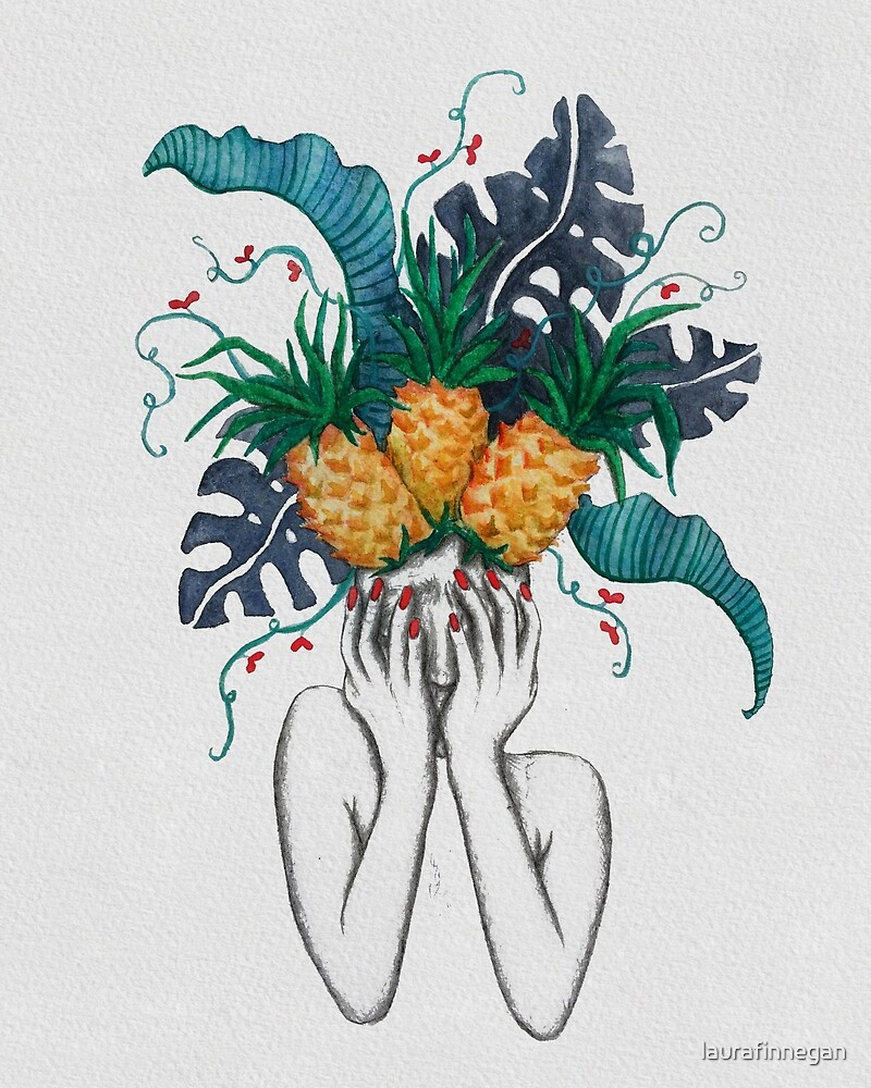 Pineapples are in my head by laurafinnegan