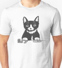 Poker Cat Face T-Shirt