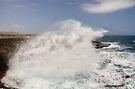 Crashing Waves at Boka Tabla by Kasia-D