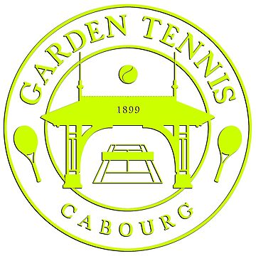 CABOURG GARDEN TENNIS COLLECTION - YELLOW by Lionfish