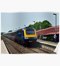 First Great Western HST Poster