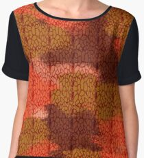 stains  Women's Chiffon Top
