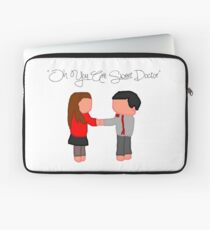 """Oh You Are Sweet Doctor"" Laptop Sleeve"
