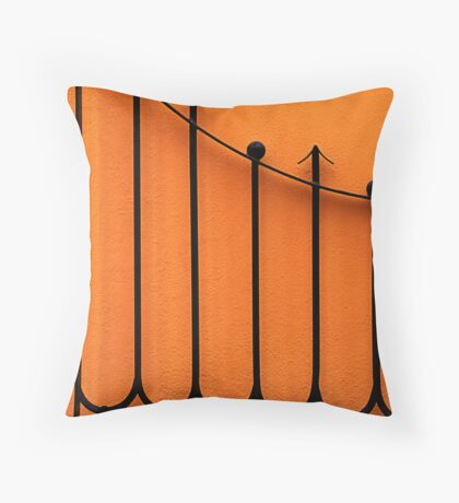 Cabo Fence Throw Pillow