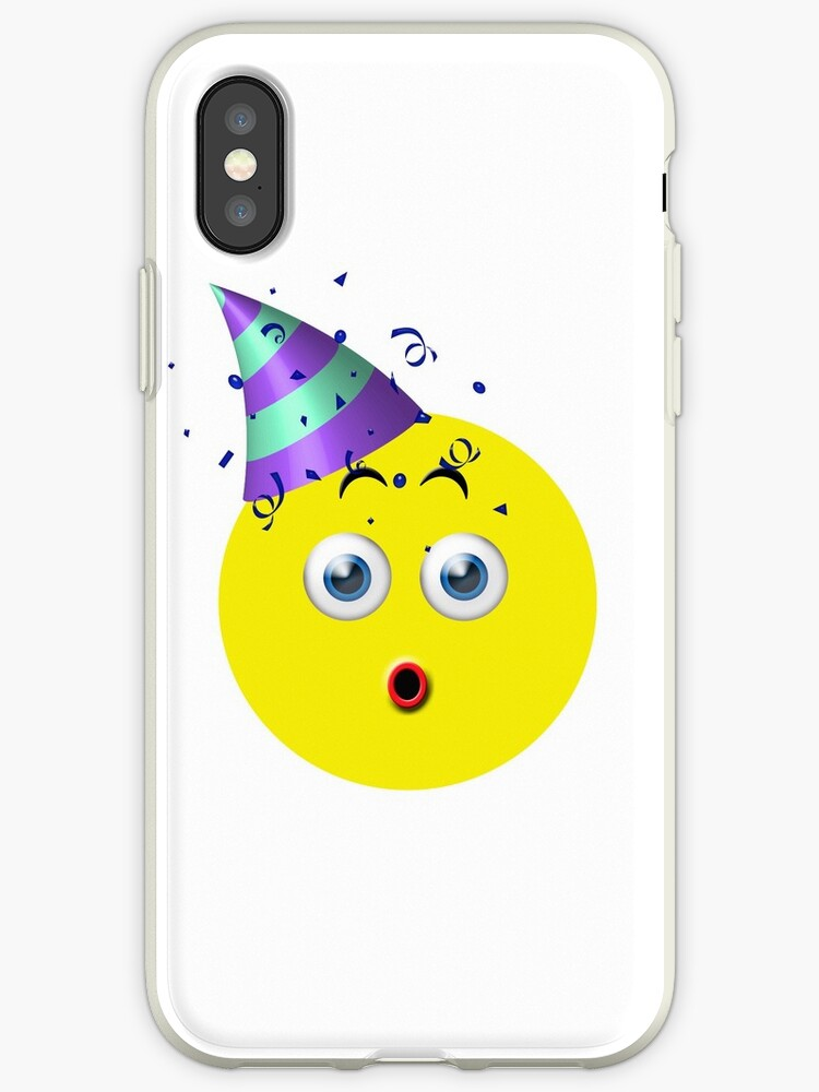 Birthday Surprise Emoji IPhone Cases Covers By Macdesigns