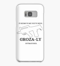 Groza-ly Out-Matched Samsung Galaxy Case/Skin