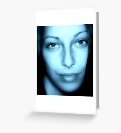 ICE QUEEN 2 Greeting Card