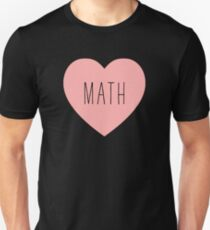 I Love Math Heart T-Shirt