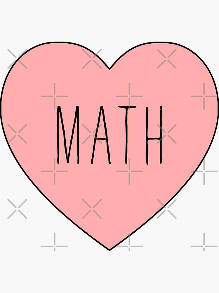 Ich liebe mathematisches Herz von thepinecones