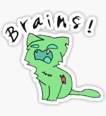 Brains! Sticker