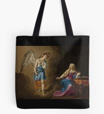 Bolsa de tela Anunciación Ángel y María