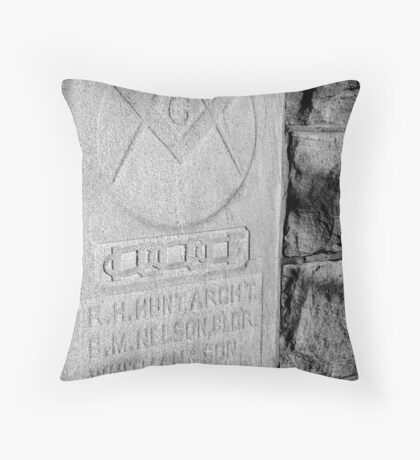The Stonecutters Throw Pillow