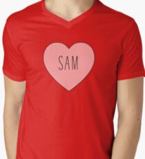 I Love Sam Heart T-Shirt