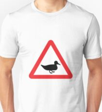 Duckling Road Sign T-Shirt
