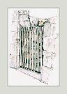 Closed Gate by Mariana Musa