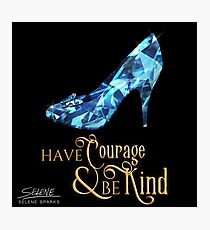 The Glass Slipper - Cinderella Photographic Print