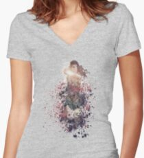W.W. Women's Fitted V-Neck T-Shirt