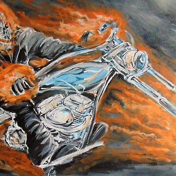 Fire Rider by heroismo1963