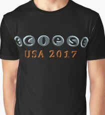 Total Eclipse 2017 USA Graphic T-Shirt