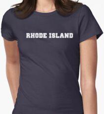 Rhode Island Women's Fitted T-Shirt