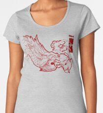 Ryu Red Women's Premium T-Shirt