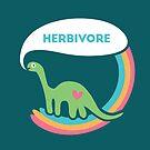 Herbivore Dinosaur  by fixtape