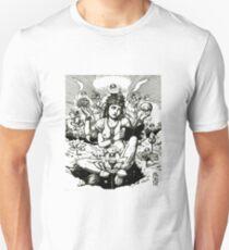 Vishnu Ex Libris Print  T-Shirt