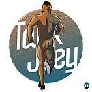 TankJoey runner illustration  by Tankjoey