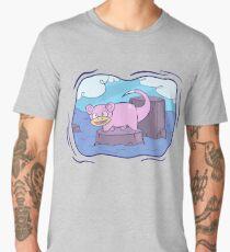 Stranded Slowpoke Pokemon Men's Premium T-Shirt