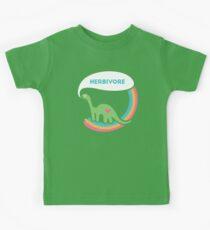 Herbivore Dinosaurier Kinder T-Shirt