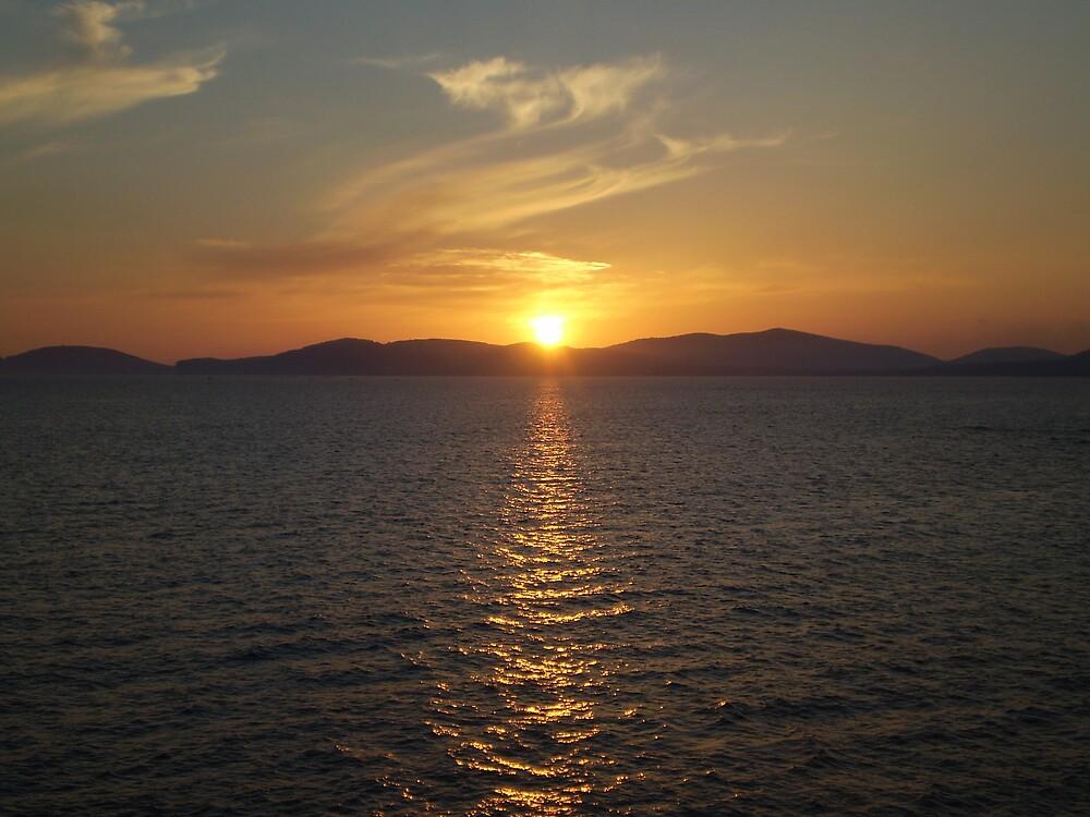 Sardinian Sunset by oscars
