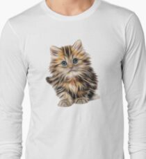 Cute Brown Kitten T-Shirt