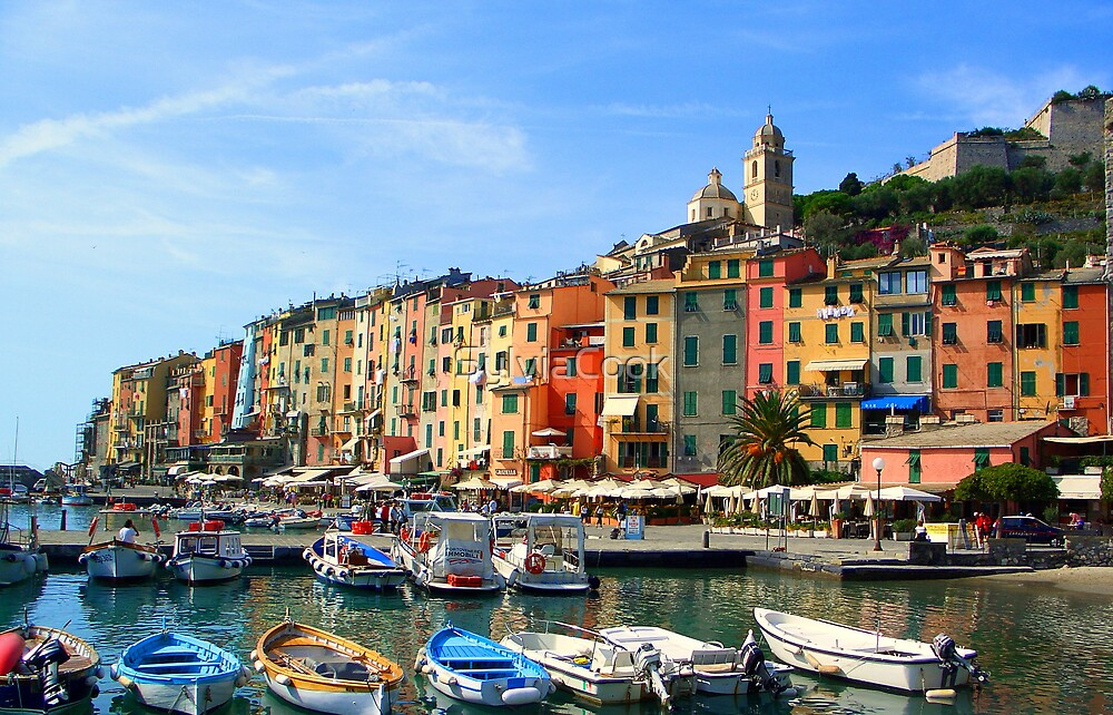 Portovenere Italy by SylviaCook