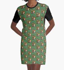 Timothy & Foxy Graphic T-Shirt Dress