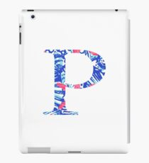 Rho Tropical Letter iPad Case/Skin