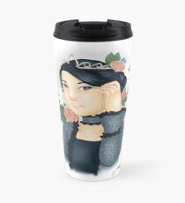 Blue Lady Travel Mug