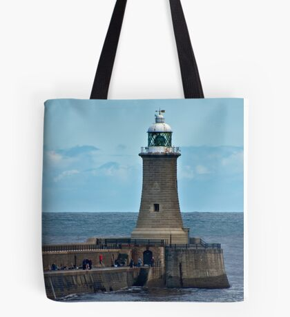 Harbour Light - Whitley Bay. Tote Bag
