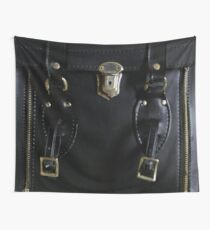 Leather and Zippers Wall Tapestry