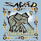 sacred elephant by redboy