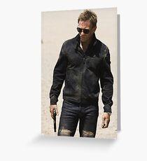 James Bond 007 Daniel Craig Quantum of Solace, Skyfall, Casino Royale Greeting Card